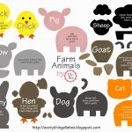 A Little Bit Of Everything : Free Printable Farm Animal Template   Free Printable Farm Animal Cutouts