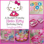 A Super Sweet Hello Kitty Birthday Party Using Free Printables   Free Printable Hello Kitty Pictures