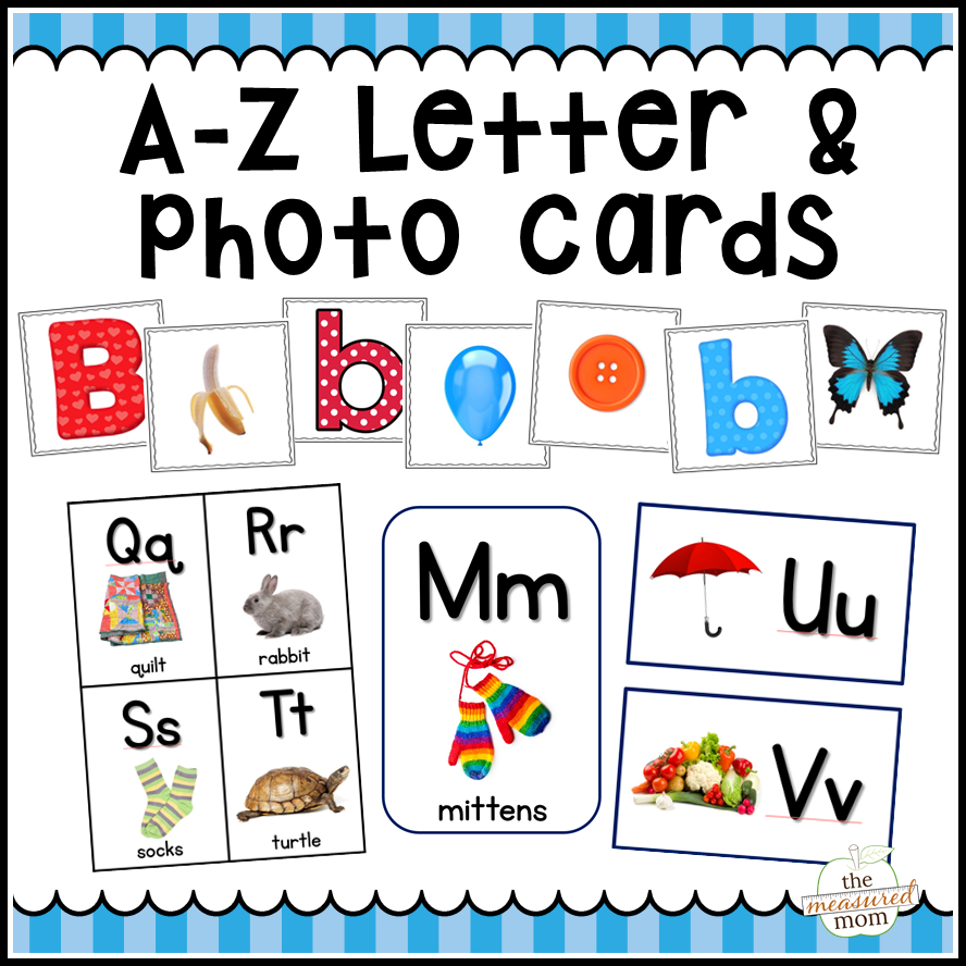 A-Z Letter Cards, Photo Cards, Alphabet Flash Cards & More - The - Free Printable Alphabet Letters For Display
