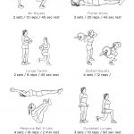 Abs & Butt Blast Gym Workout – Illustrated Exercise Plan Created At   Free Printable Gym Workout Plans