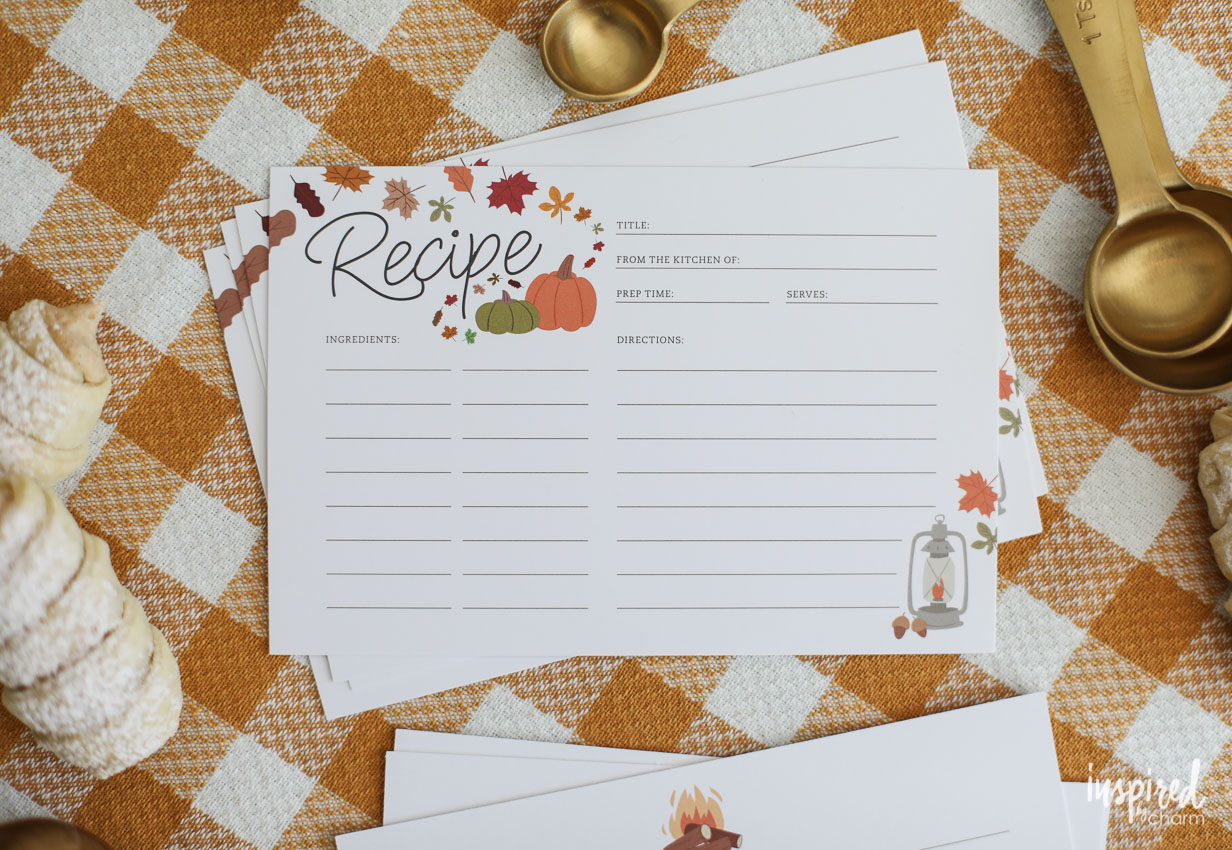All Posts - Inspiredcharm - Free Printable Autumn Paper