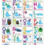Alphabet Chart With Pictures (Free Printable)   Doozy Moo   Free Printable Alphabet Chart
