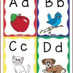 Alphabet Flashcards Freebie   Kinderland Collaborative   Phonics   Free Printable Abc Flashcards With Pictures