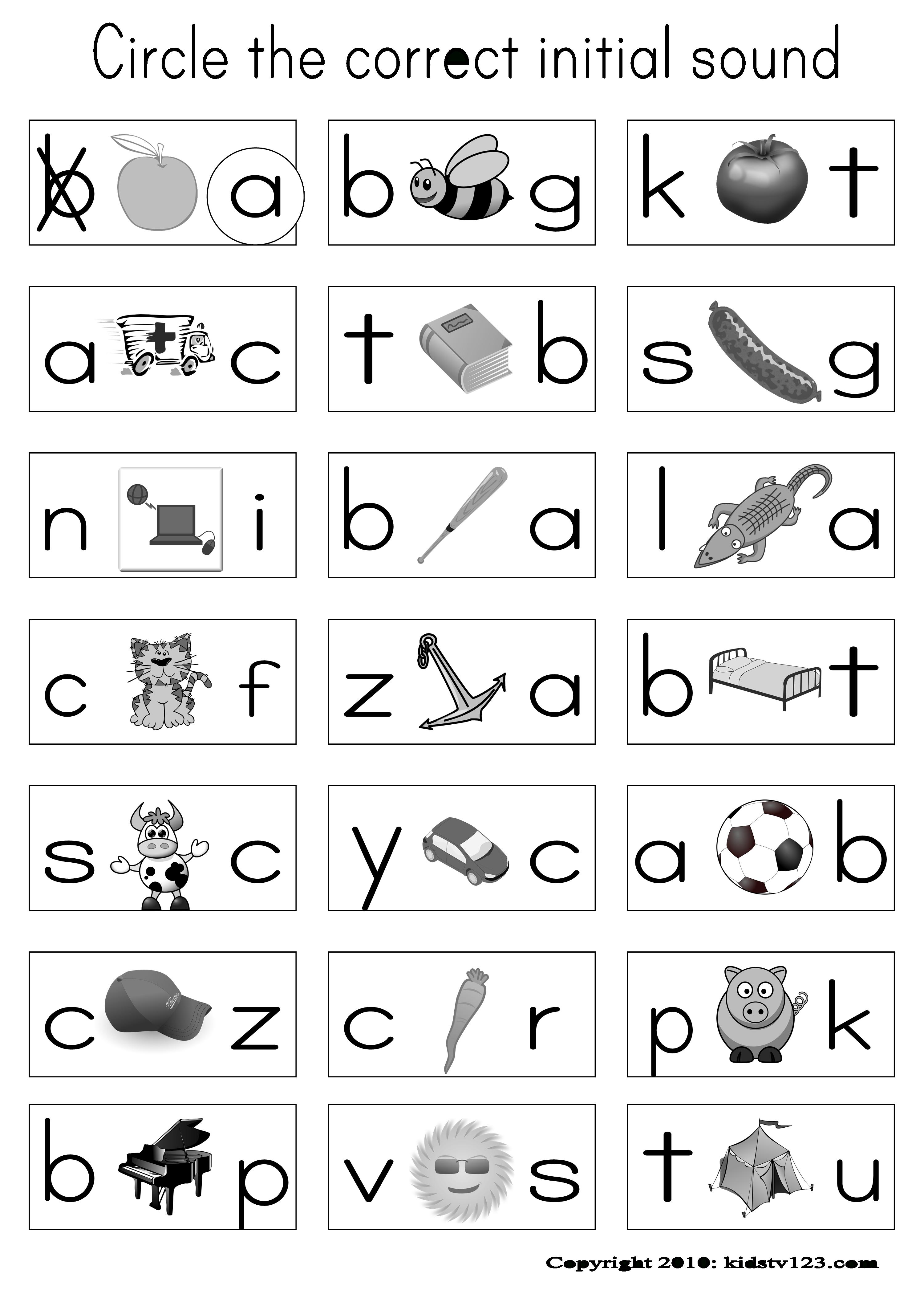 Alphabet & Phonics Worksheets Or Assessment Paper | Abc's - Free Printable Phonics Assessments