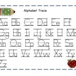 Alphabet Tracer Pages For Kids | Alphabet And Numbers Learning   Free Printable Preschool Name Tracer Pages