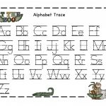 Alphabet Tracer Pages | Kiddo Shelter   Free Printable Preschool Name Tracer Pages