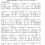 Alphabet Worksheet For Kindergarten 24 Best Free Printable Alphabet   Free Printable Alphabet Pages