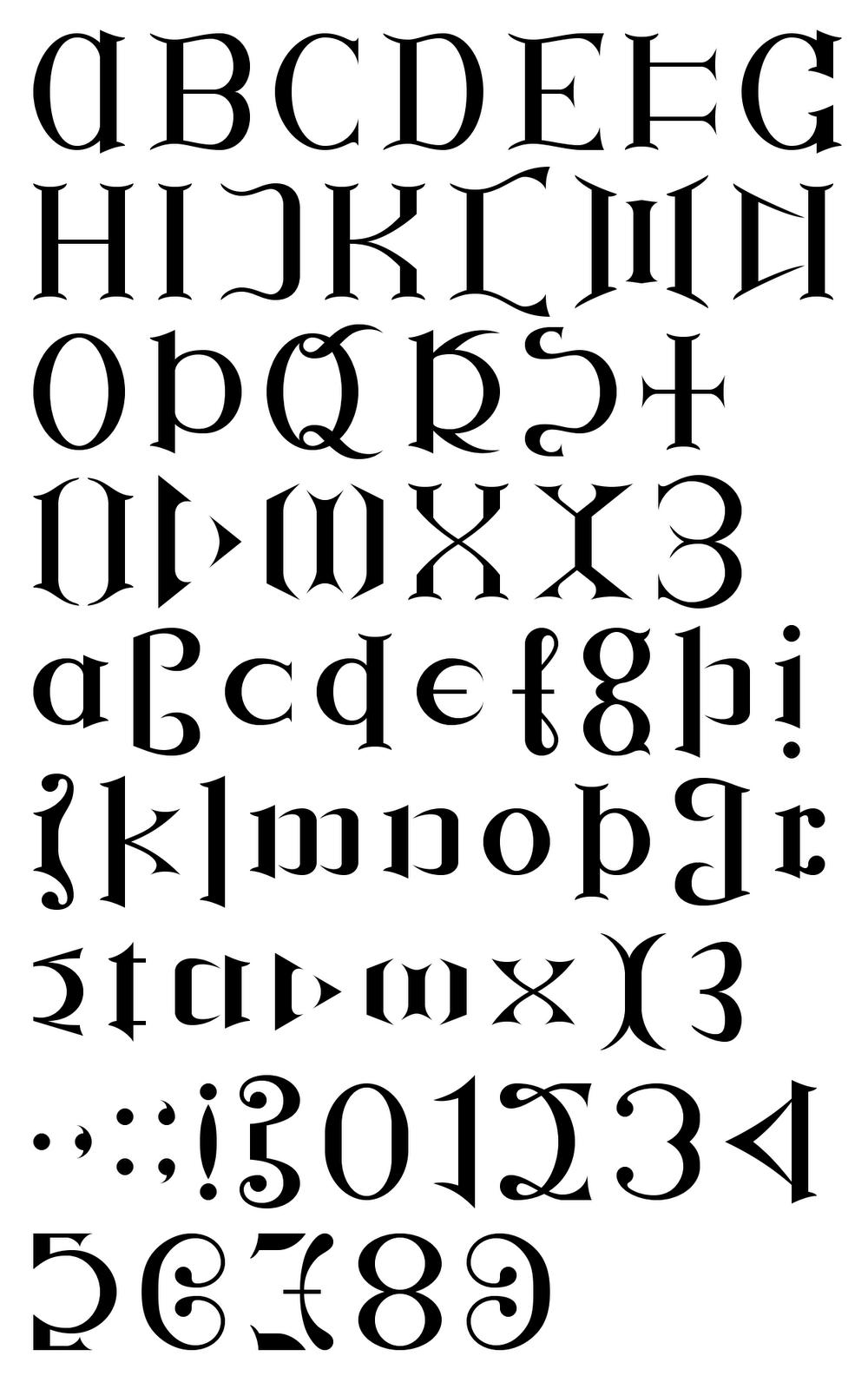 Ambigram Font | Ambigramme | Pinterest - Ambigram Generator Free Printable