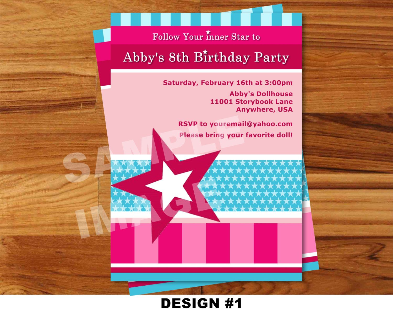 American Girl Birthday Invitations Free Printable | American Girl - American Girl Party Invitations Free Printable