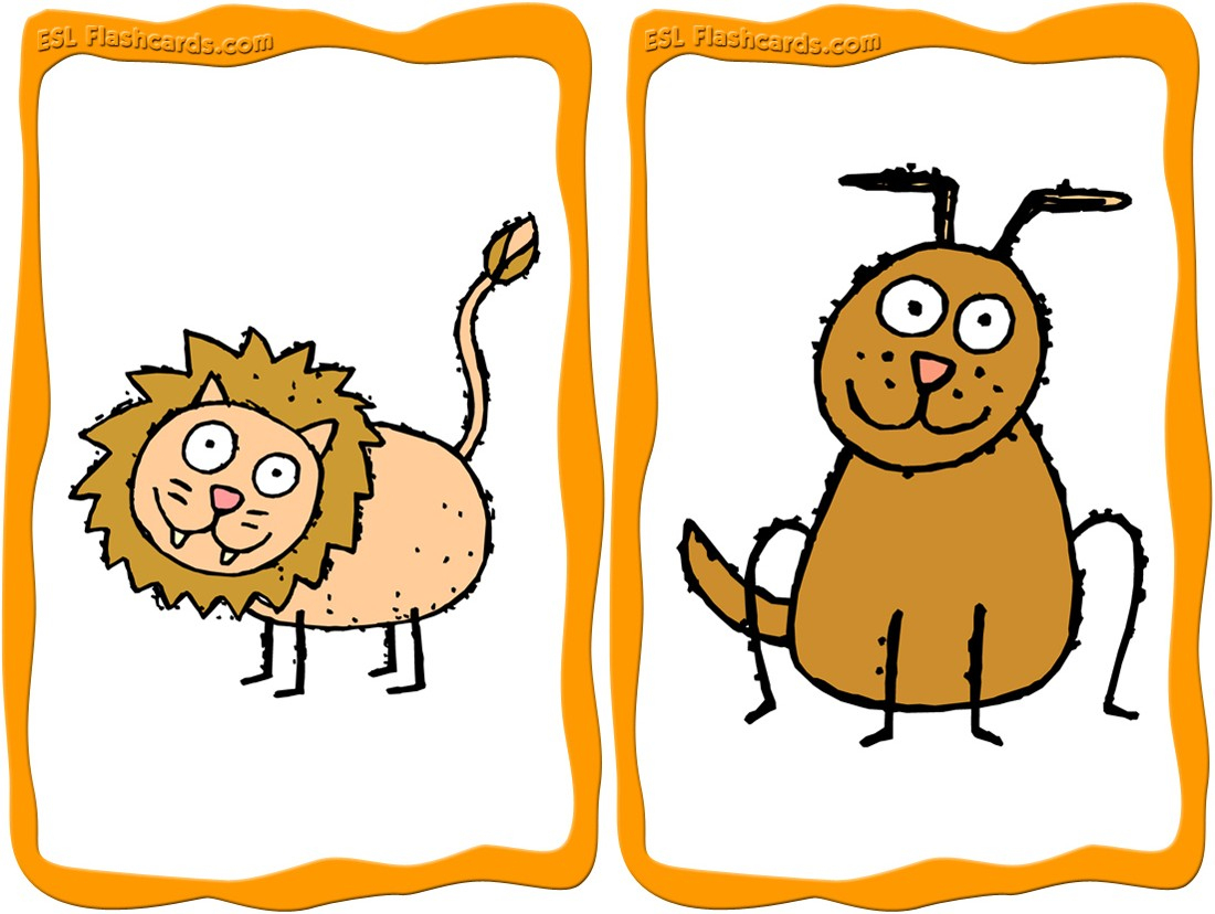 Animal Flashcards - 15 Free Printable Flashcards - Free Printable Animal Cards