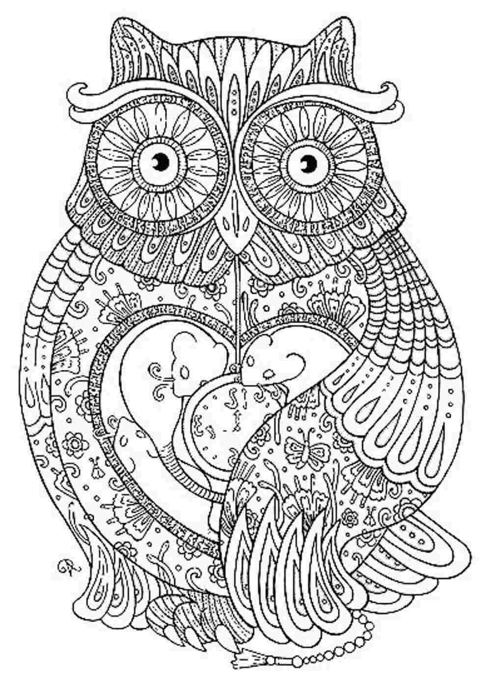 Animal Mandala Coloring Pages To Download And Print For Free | Craft - Mandala Coloring Free Printable