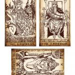 Antique Printable Tarot Pdf Digital Collage Sheet Altered Art   Free Printable Tarot Cards