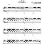 Apologizeone Republic Piano Sheet Music   Advanced Level   Apologize Piano Sheet Music Free Printable
