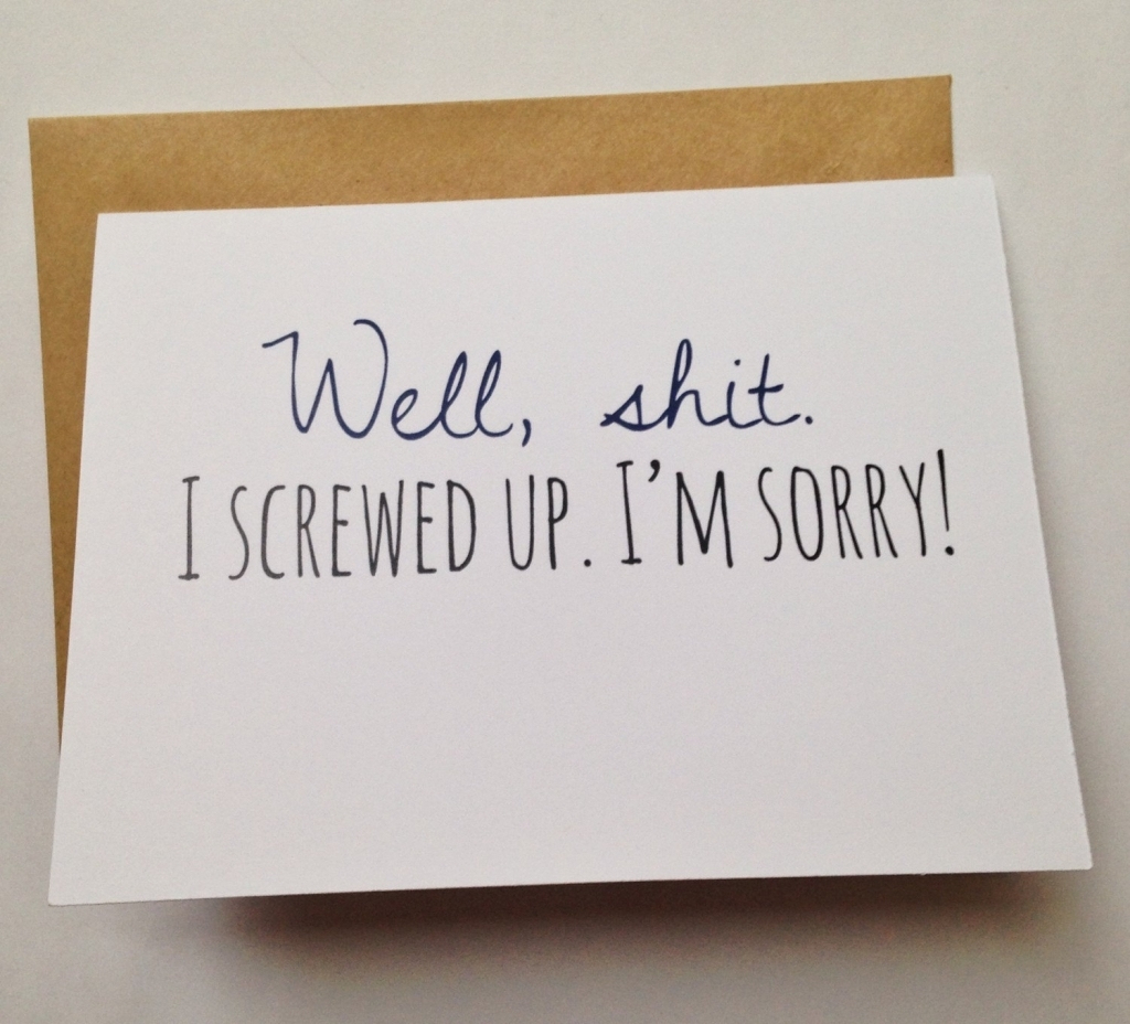 Apology Greeting Card   Design Ideas Free Printable Cards Picture - Free Printable I Am Sorry Cards