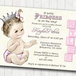 Astounding Princess Baby Shower Invitations Templates ~ Ulyssesroom   Free Printable Princess Baby Shower Invitations