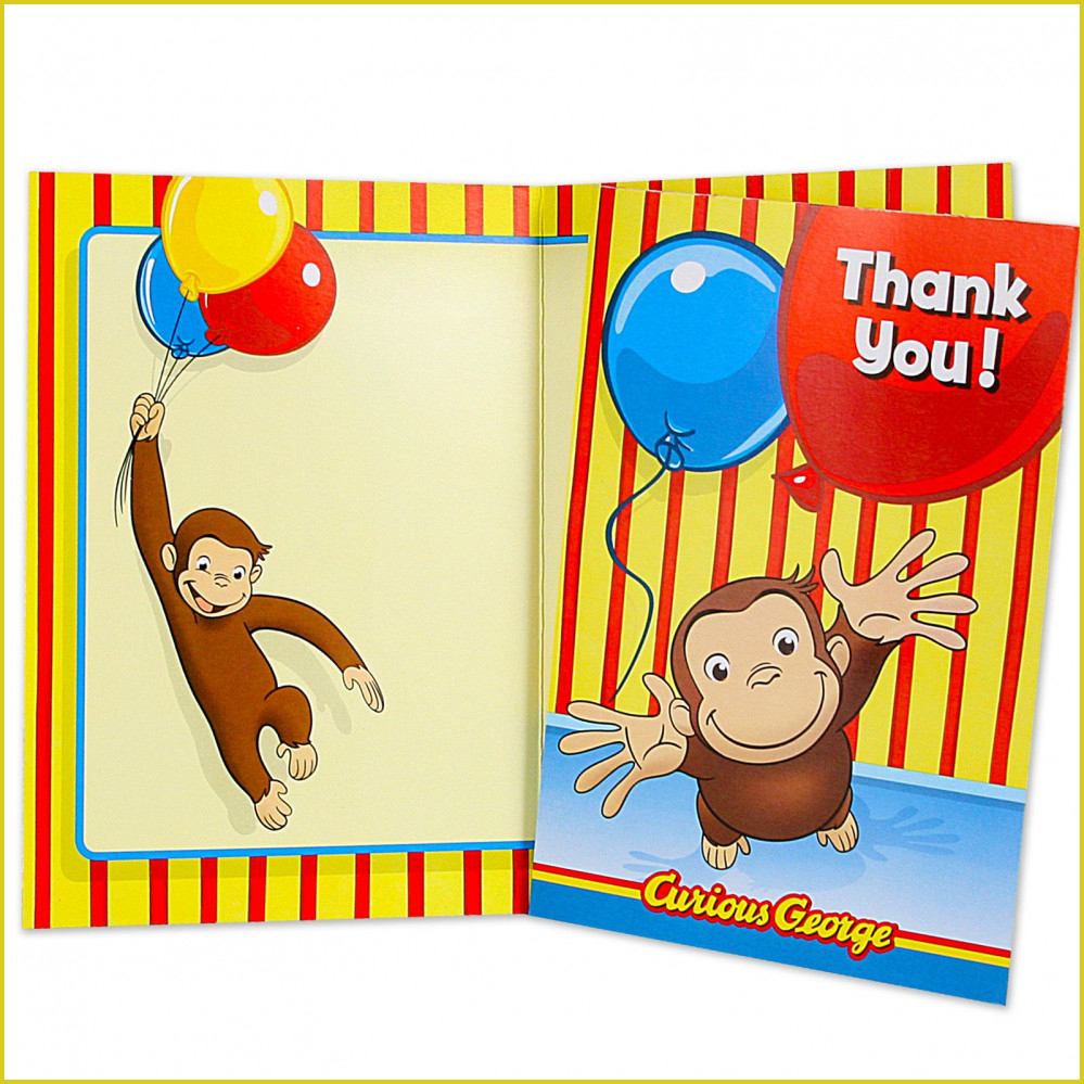 Attractive Curious George Birthday Invitations For Additional Free - Free Printable Curious George Invitations