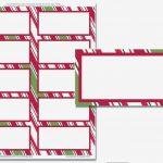 Avery Address Labels 14 Template Beautiful Free Christmas Return   Free Printable Christmas Return Address Label Template