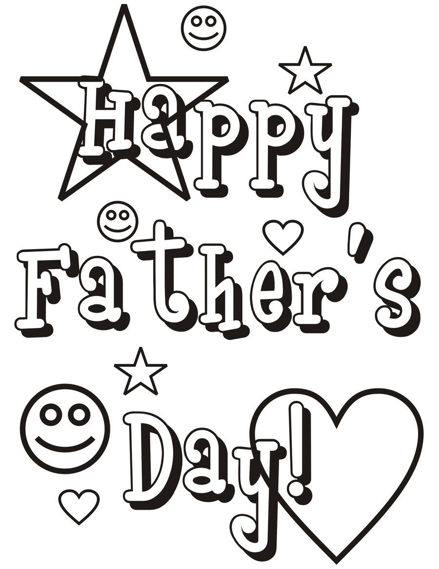 Awesome Fathers Day Coloring Pages Printable #29726 - Free Printable Fathers Day Coloring Pages For Grandpa