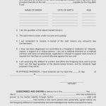 Awesome Free Printable Temporary Guardianship Form | Downloadtarget   Free Printable Child Guardianship Forms