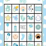 Baby Bingo Card Template | Fiddler On Tour   Baby Bingo Free Printable Template