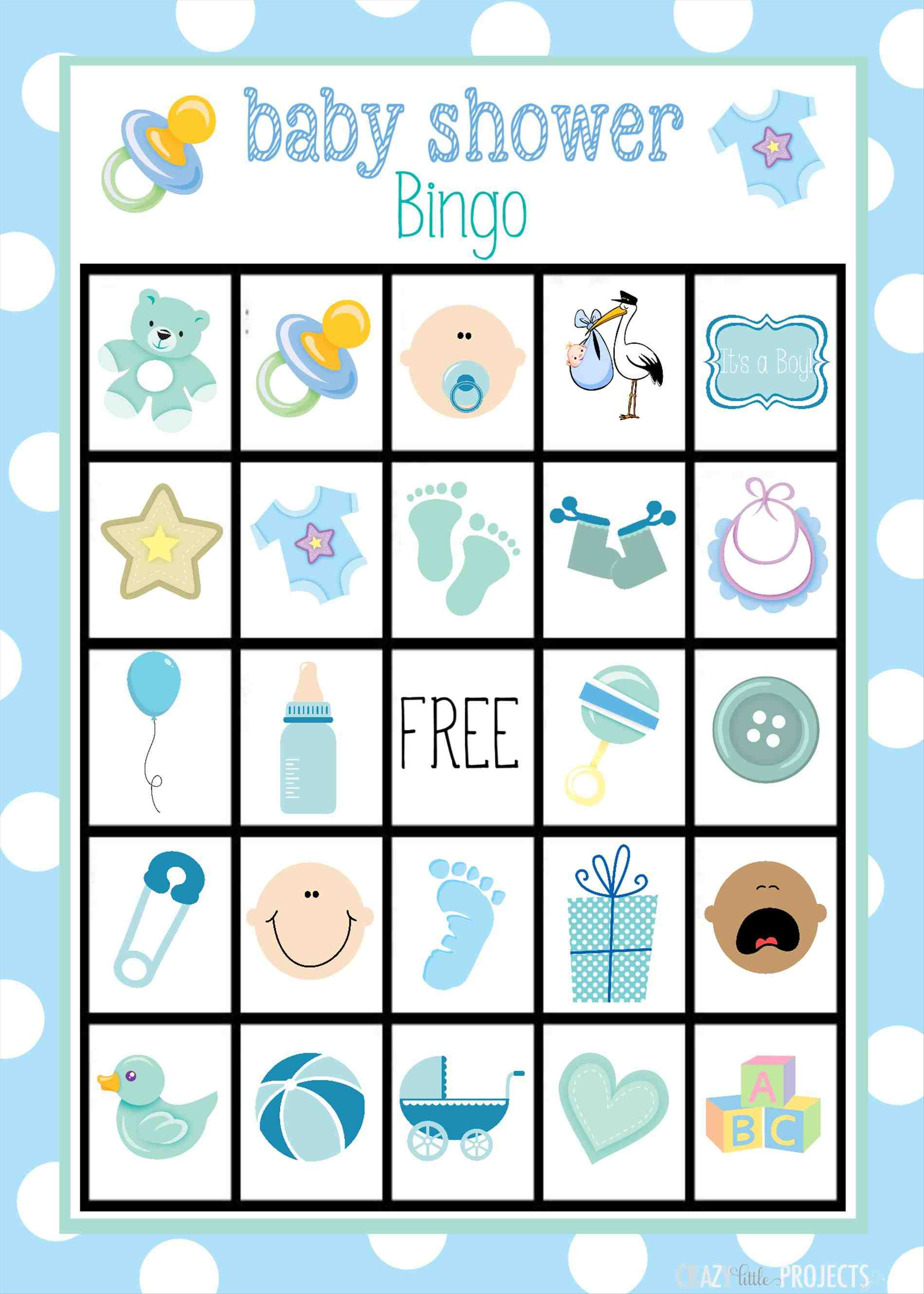 Baby Bingo Card Template | Fiddler On Tour - Baby Bingo Free Printable Template