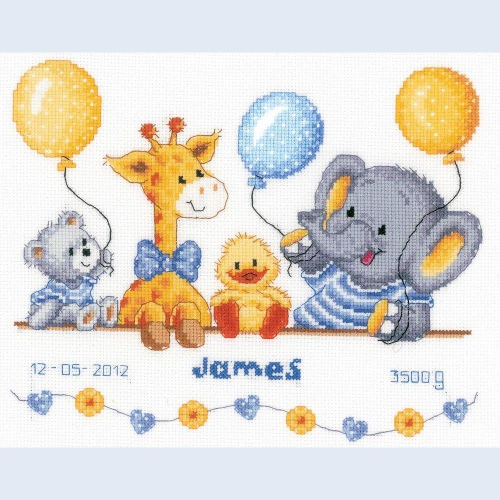 Baby Cross Stitch Patterns Free Printable | Point De Croix Girafes - Baby Cross Stitch Patterns Free Printable