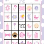 Baby Shower Bingo Cards   Free Printable Baby Shower Bingo