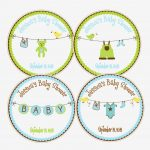Baby Shower Labels Templates Favor Wording Label Ideas Tags Diy Free   Free Printable Baby Shower Favor Tags