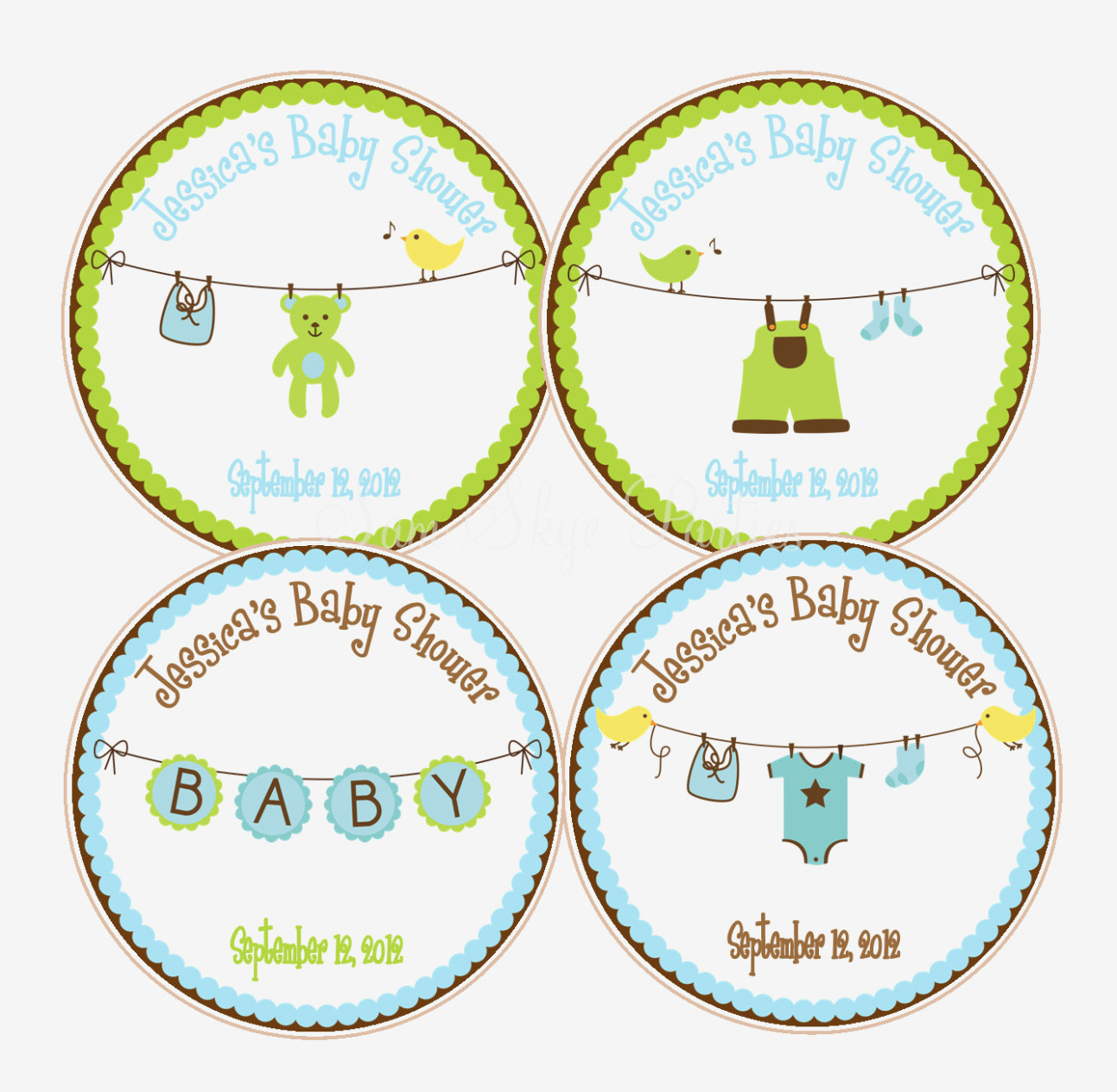 Baby Shower Labels Templates Favor Wording Label Ideas Tags Diy Free - Free Printable Baby Shower Favor Tags Template