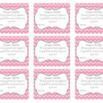 Baby Shower Raffle Tickets Printable   Baby Shower Ideas   Diaper Raffle Template Free Printable