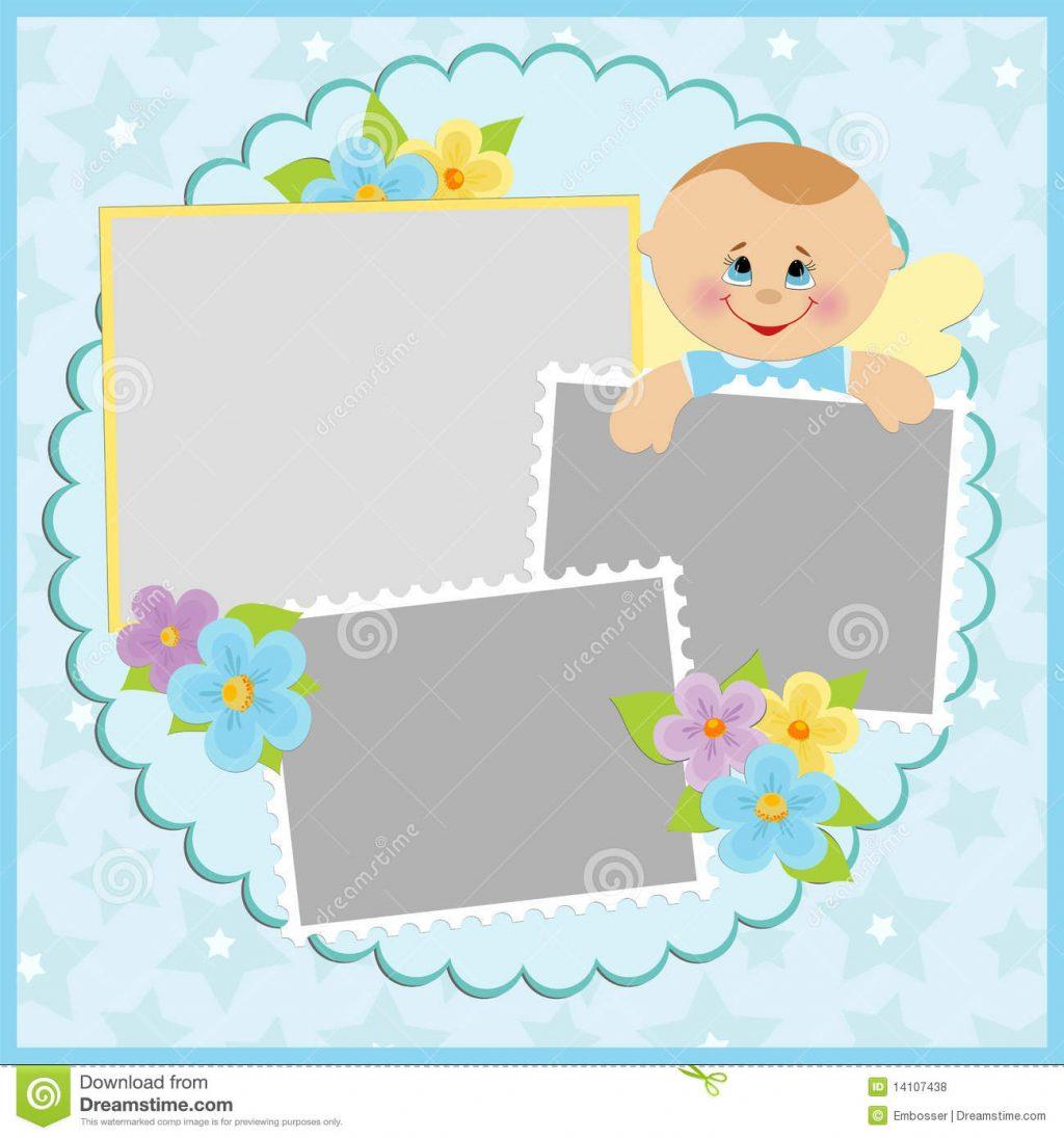 Baby Template S Photo Album Photoshop Templates For Bingo Printable - Baby Scrapbook Templates Free Printable