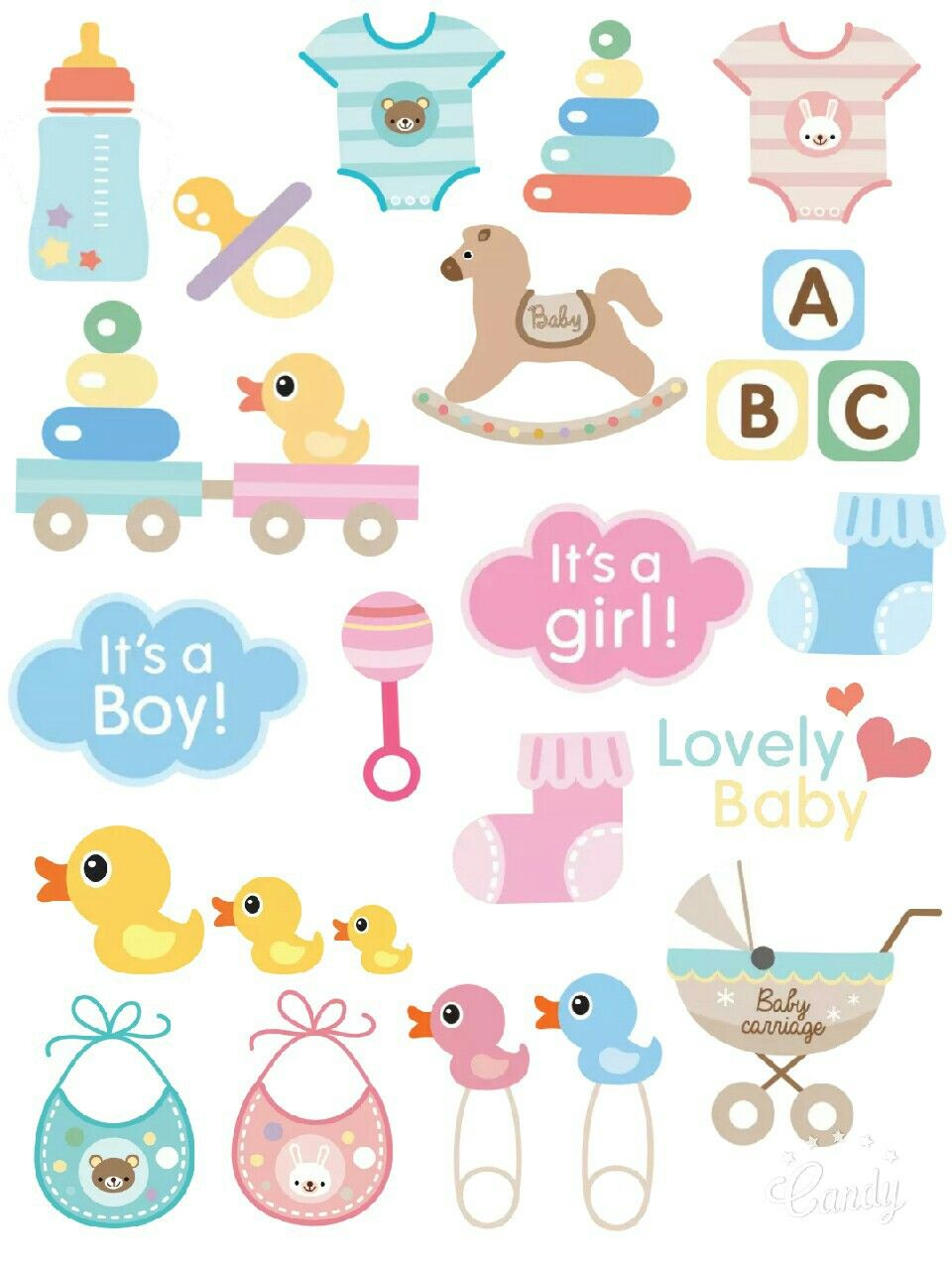 Babybaby - Sticker Printable… | Diy & Crafts | Baby, Baby - Pin The Dummy On The Baby Free Printable