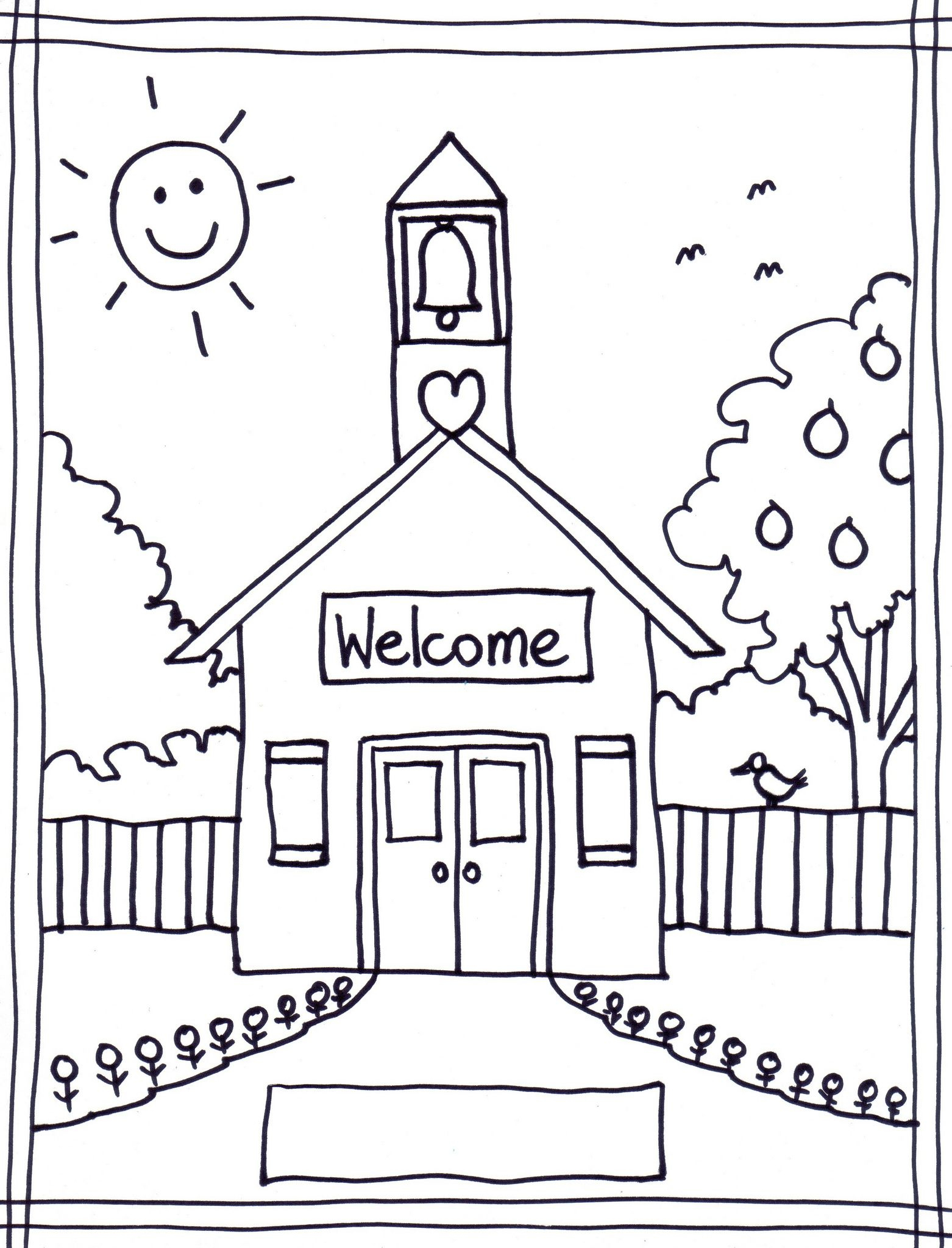Back To School Coloring Pages Free Printables Image 22 … | Classroom - Free Printable Pages For Preschoolers