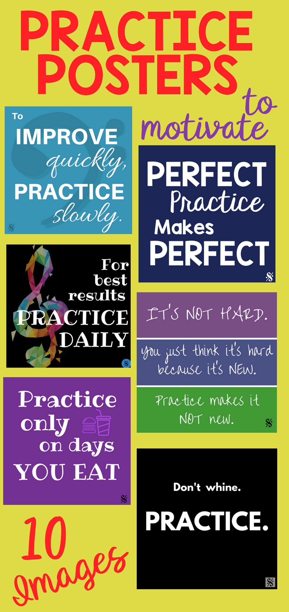 Band Hall Bulletin Board Printables | Brass Band | Pinterest | Music - Free Printable Music Posters