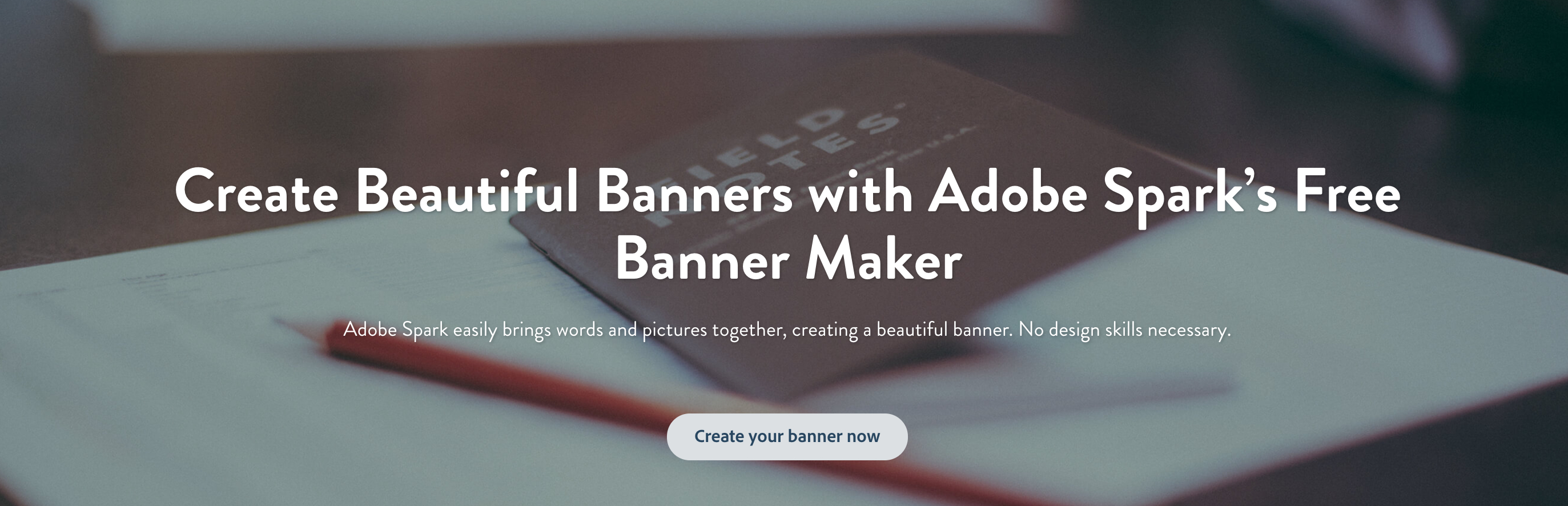 Banner Maker: Create Beautiful Banners Easily, For Free | Adobe Spark - Free Printable Banner Maker