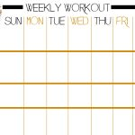 Basic Full Body Workout Plus Free Printable Workout Sheet   Rock And   Free Printable Gym Workout Routines