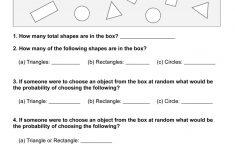 Basic Statistics: Probability I (Set 1) | Free Printable Children's – Free Printable Probability Worksheets 4Th Grade