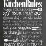 Bathroom Rules Free Printable   How To Nest For Less™   Free Printable Bathroom Quotes