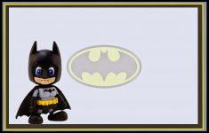 Batman Baby: Free Printable Labels, Free Party Printablew And Box – Superhero Name Tags Free Printable