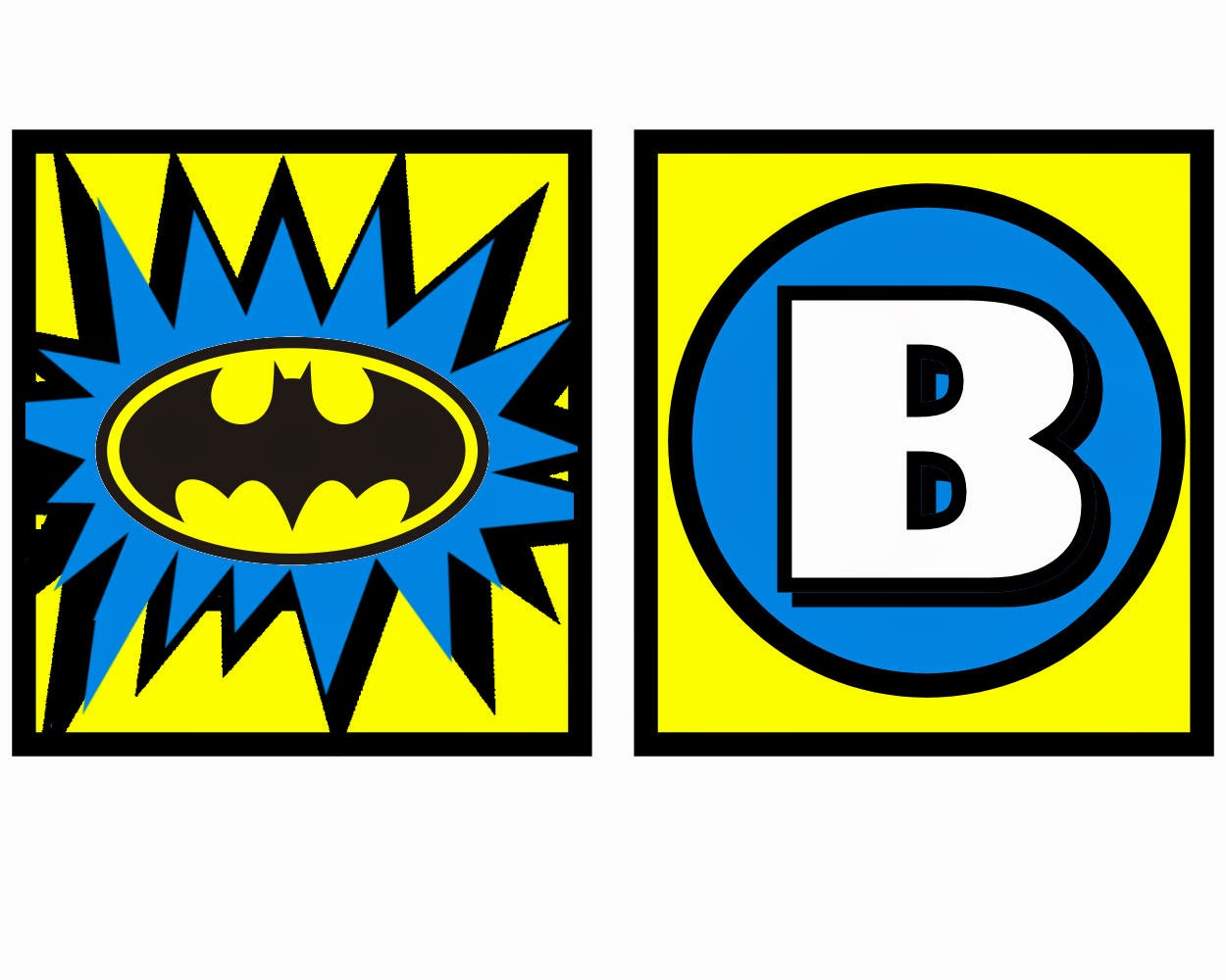 Batman: Free Printable Mini Kit. | Oh My Fiesta! In English - Free Printable Batman Pictures