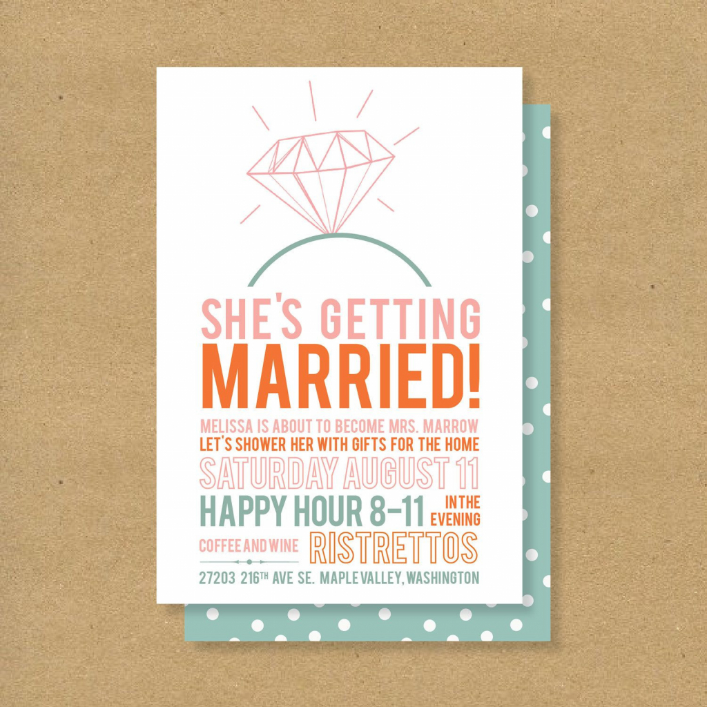 Beach Theme Bridal Shower Invitation Template Free Downloads Bridal - Free Printable Beach Theme Bridal Shower Invitations