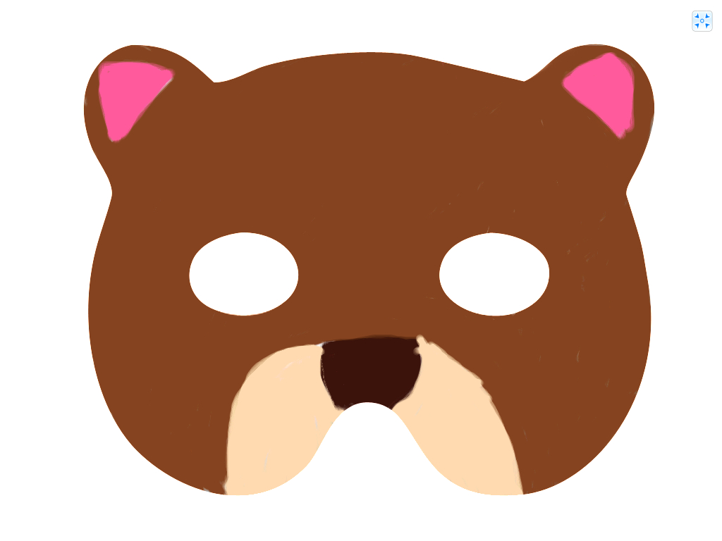 Bear Mask Template - Masks - Free Printable Bear Mask