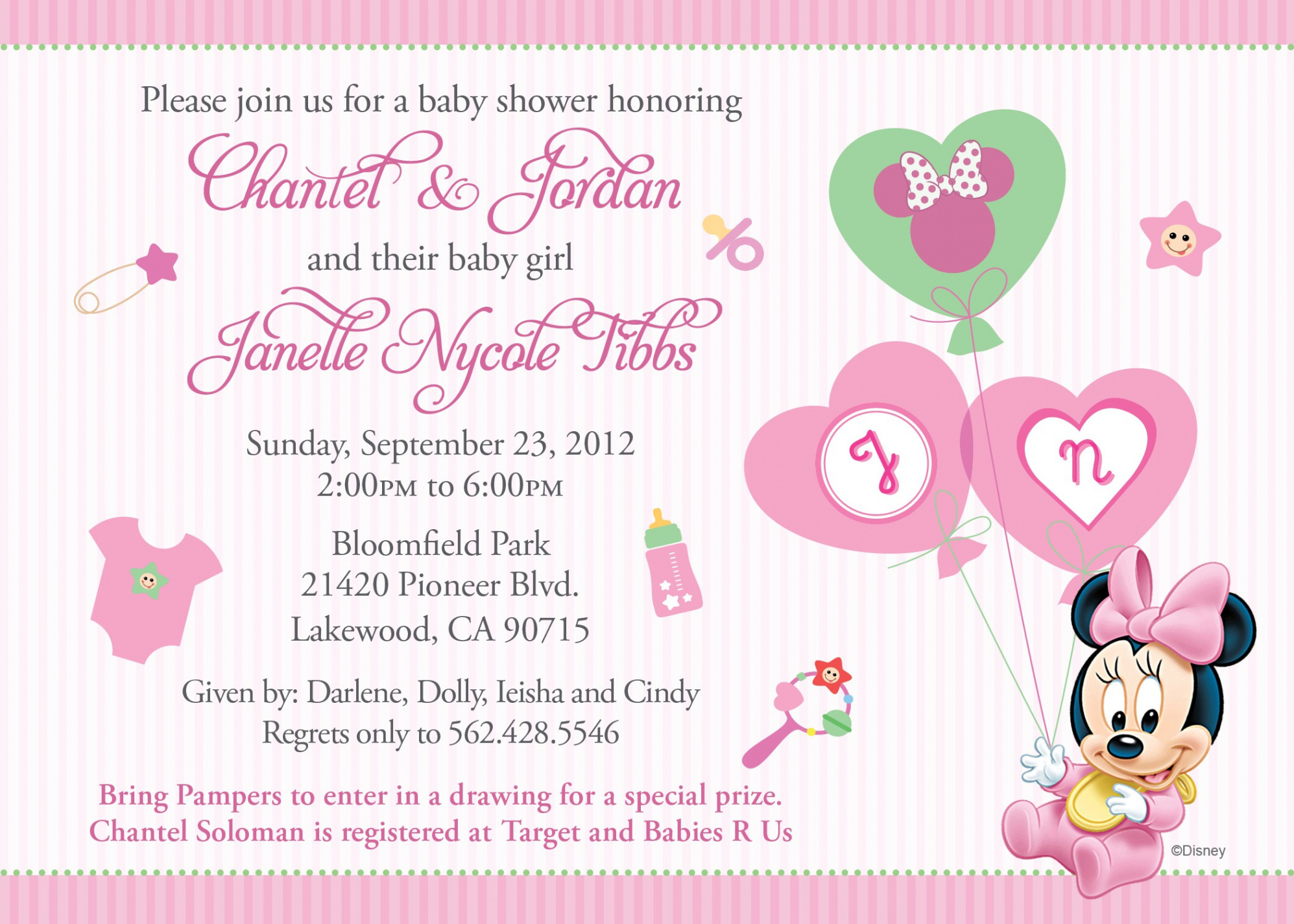 Beautiful Free Hello Kitty Baby Shower Invitation Templates - Free Printable Hello Kitty Baby Shower Invitations