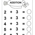 Beginner Addition – 6 Kindergarten Addition Worksheets / Free   Free Printable Math Worksheets For Kindergarten