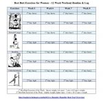 Best Butt Workouts For Women   Free Printable 12 Week Butt Workout Plan   Free Printable Gym Workout Routines
