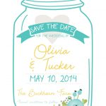 Best Images Of Free Printable Mason Jar Invitation Template   Free Mason Jar Wedding Invitation Printable Templates