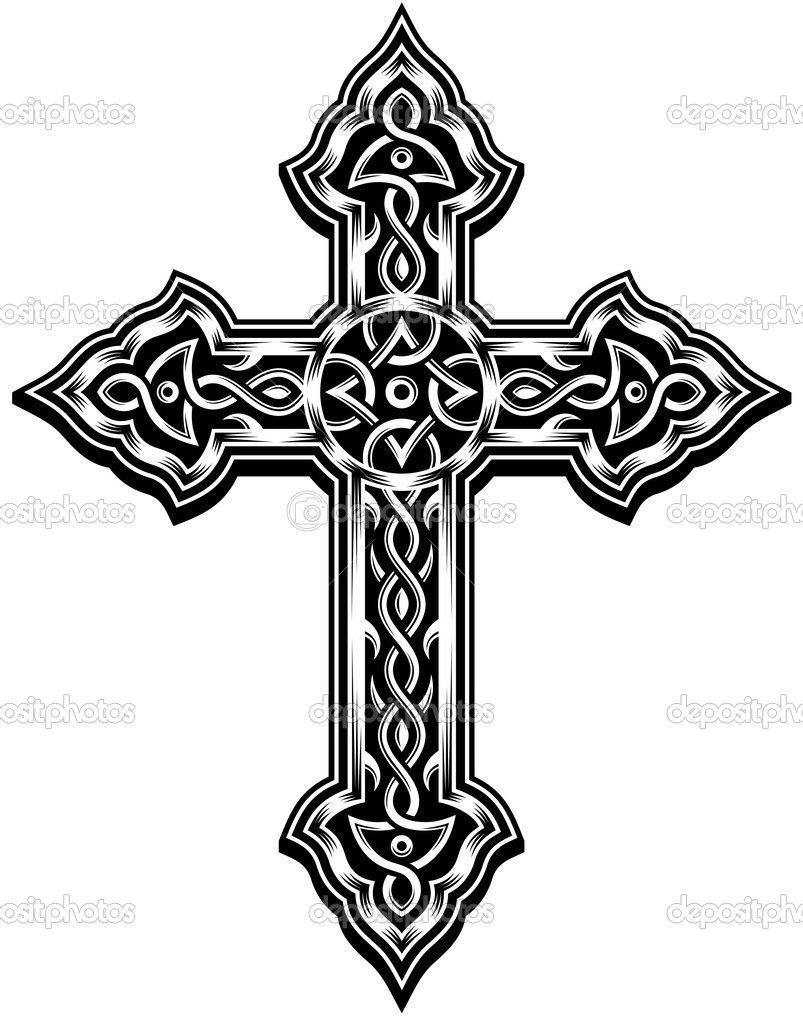 Best Tattoo Ideas For Men | Cross Wall | Pinterest | Celtic Cross - Free Printable Cross Tattoo Designs