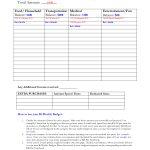 Bi Weekly Budget Calculator Spreadsheet Bonfires And Wine Livin   Free Printable Bi Weekly Budget Template