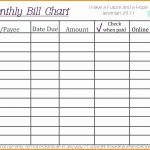 Bill Pay List Printable Paying New Chart Free Template Samples Word   Free Printable Bill Payment Schedule