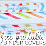 Binder Covers   Free Printable   Printable Binder Spine Inserts Free